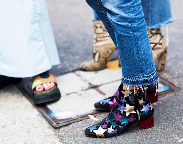 street style boots stars