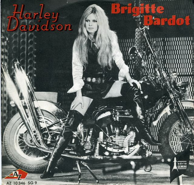 Harley Davidson Brigitte Bardot