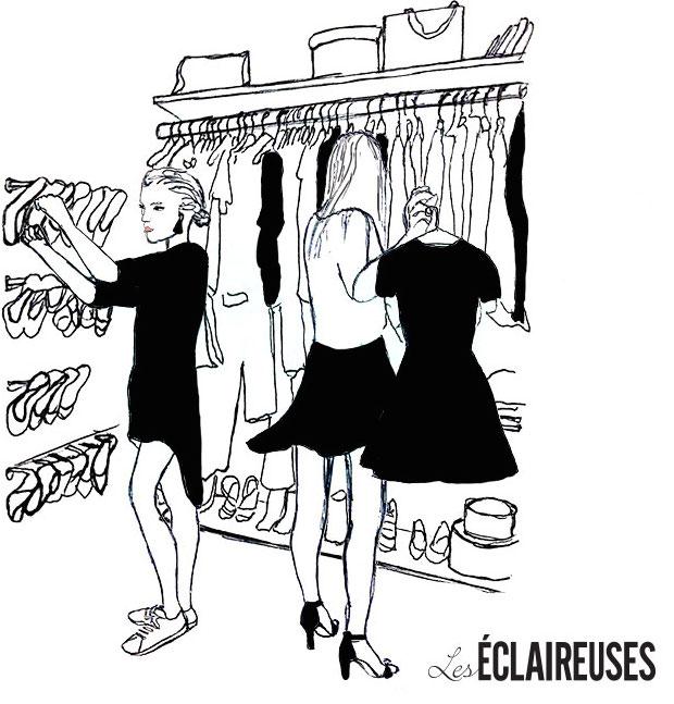 Les Éclaireuses dans le dressing de le Closet.fr