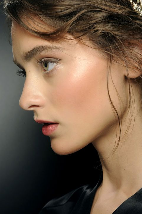 maquillage glowy léger