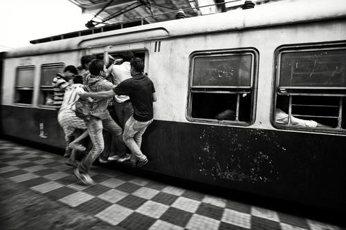 heure de pointe métro