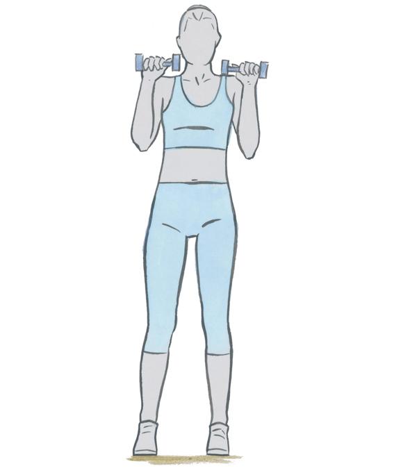exercice pour tonifier les bras