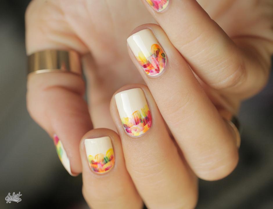 nail art discret et facile