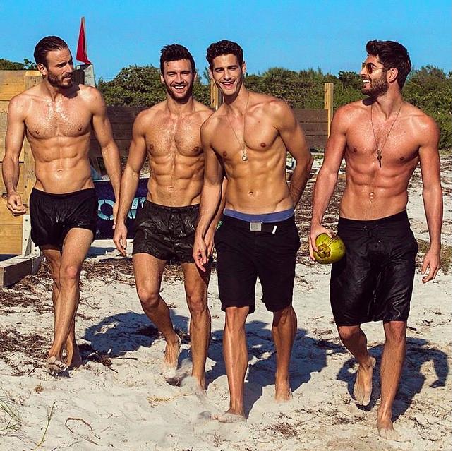 bateman sur la plage