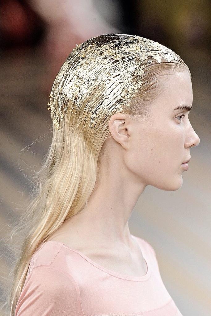 glitter hair gel