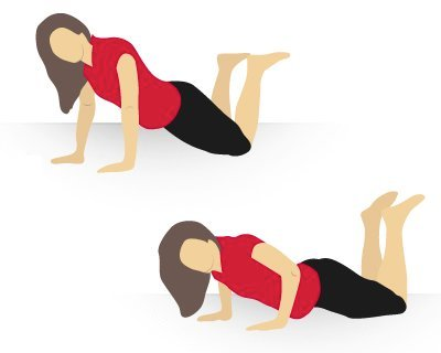 exercices pour avoir des seins fermes