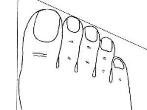 pied romain : ce que vos pieds disent de vous