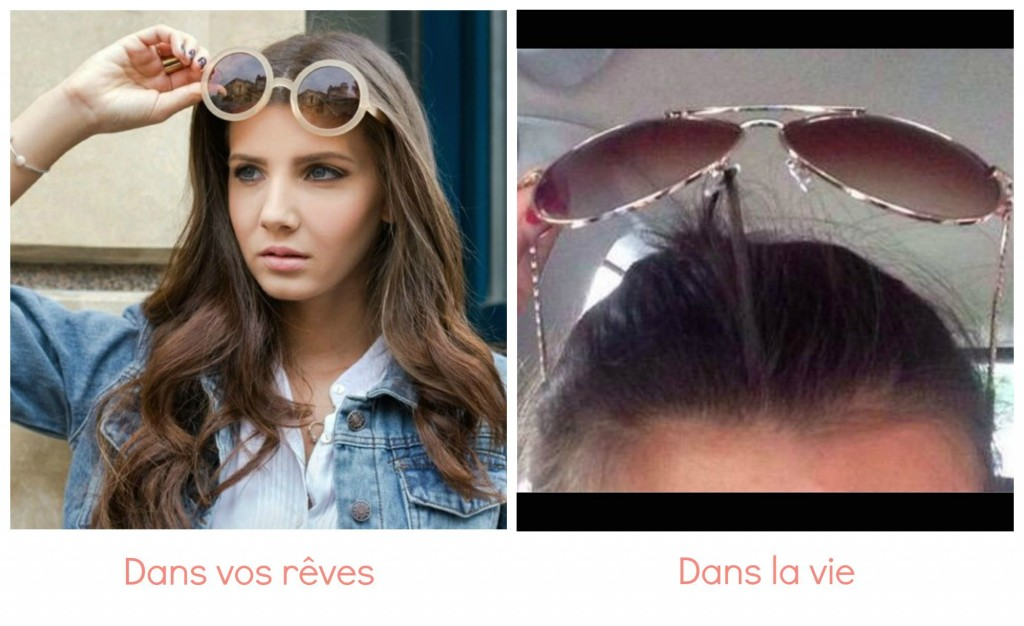 lunettes de soleil problème