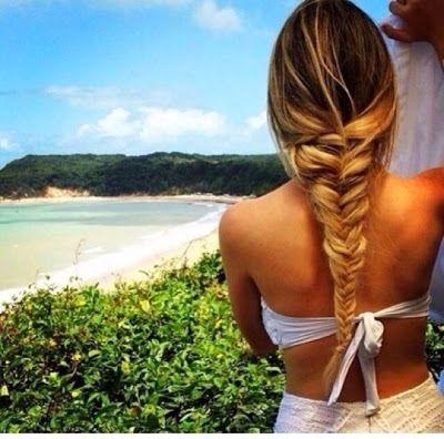 fishtail braid summer