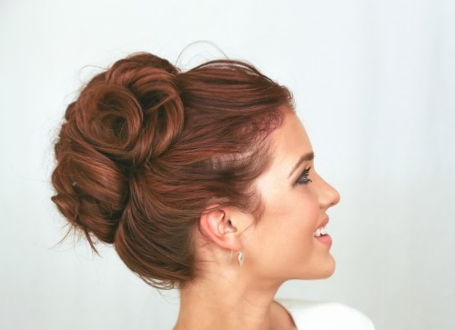 coiffure pour un mariage