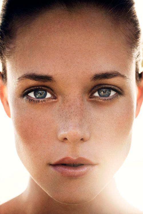 beautiful and pure skin
