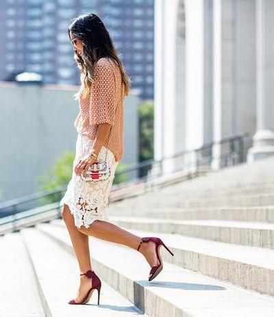 #Wanted : La jupe en dentelle la plus convoitée de l'été