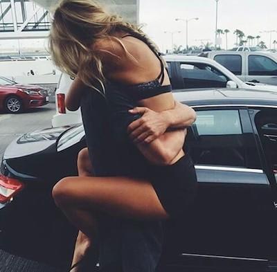 hug girls boy