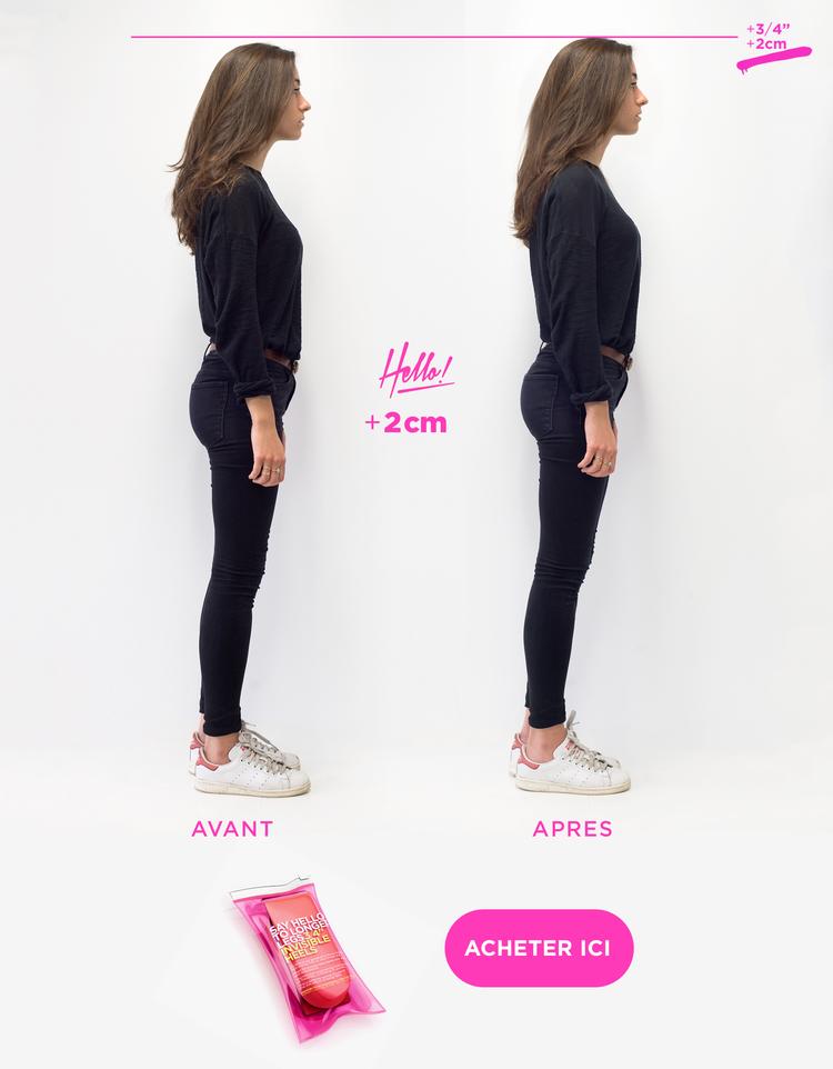 comment avoir de plus grande jambes