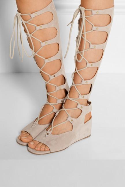 Chloé - Sandales Gladiator