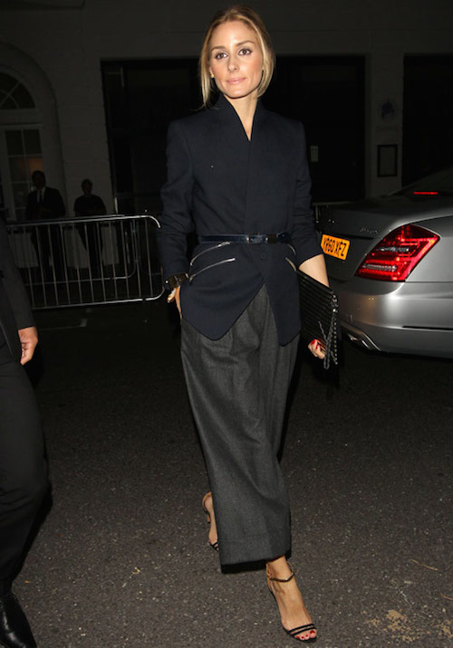 street style ceinture noire