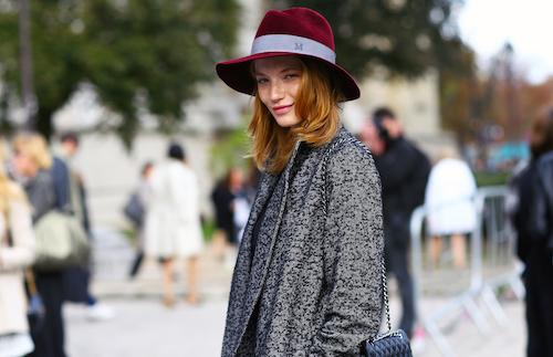 street style chapeaux maison michel