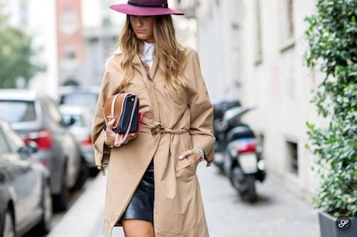 street style chapeau bordeau