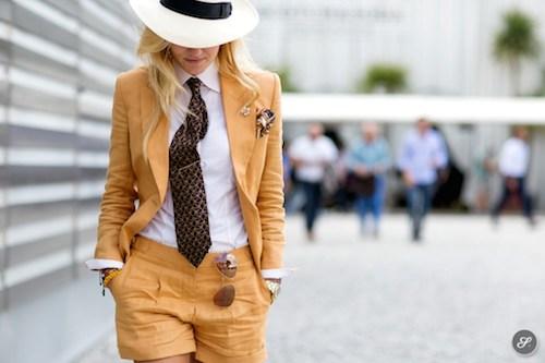 street style chapeau blanc