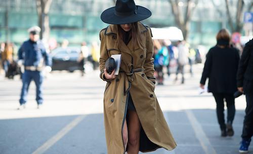 street style chapeaux noir