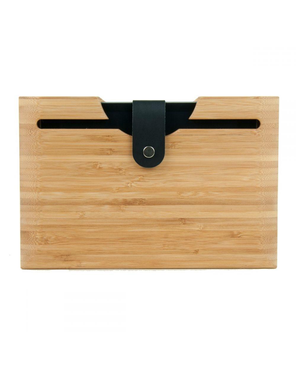 Etuit iPad en bois