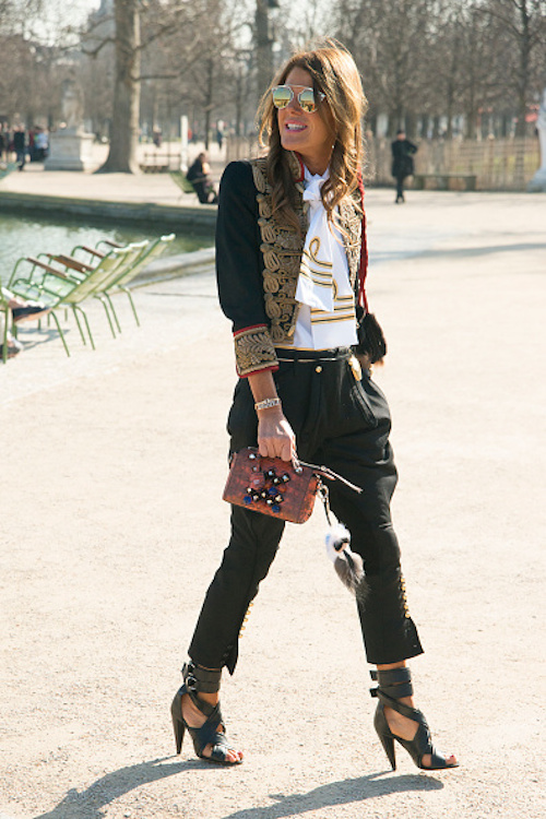 street style veste miliataire