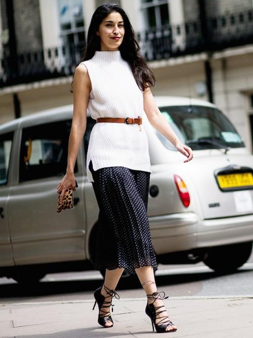 street style pull blanc