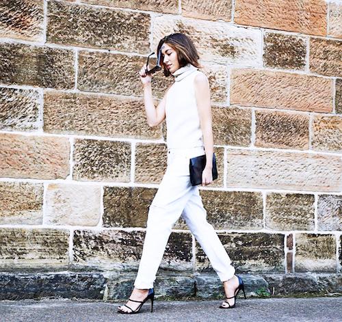 street style blanc
