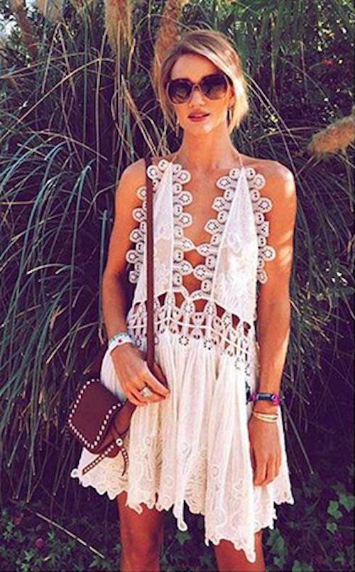 robe chloe blanche en dentelle