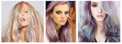 couleur de cheveux rose