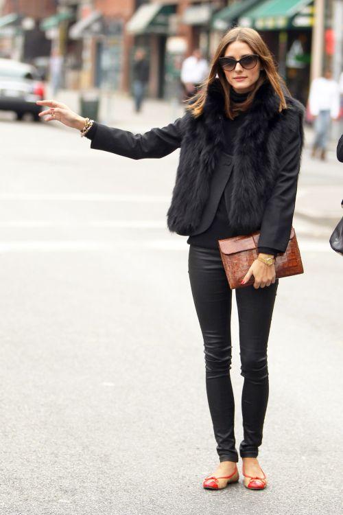 chaussures ballerines Olivia palermo