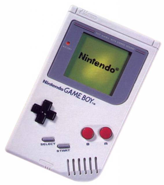 game boy grise 90's