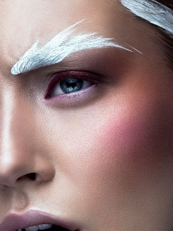 eyebrow art trend