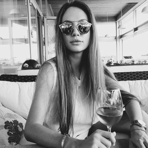 girl wine