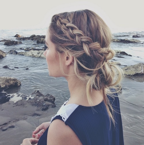 cheveux fille