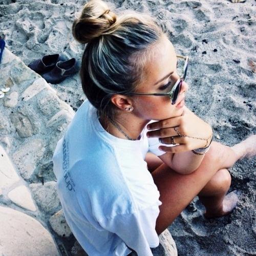 fille plage