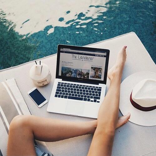 ordinateur piscine