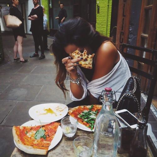 pizza femme