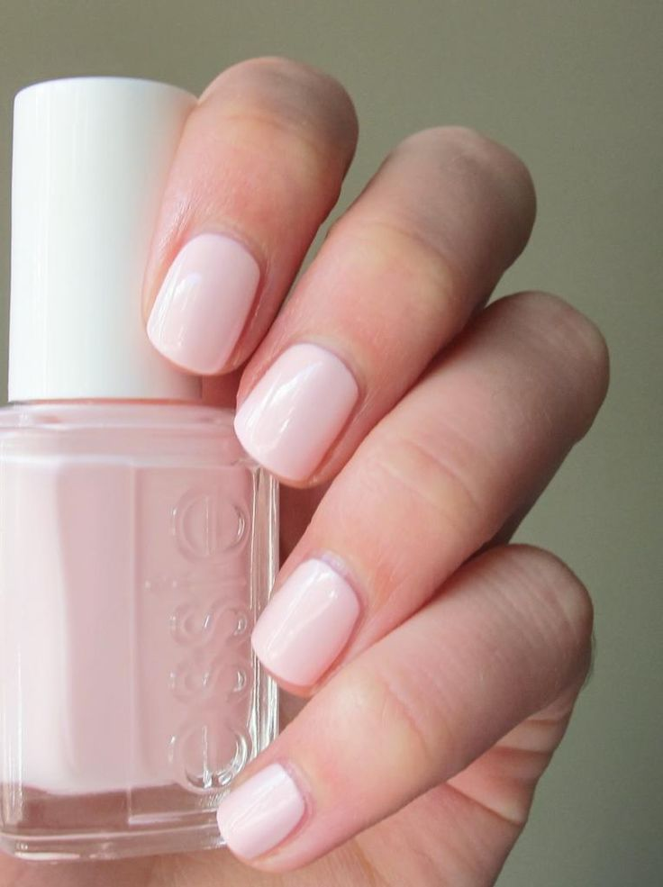 vernis nude rose pale
