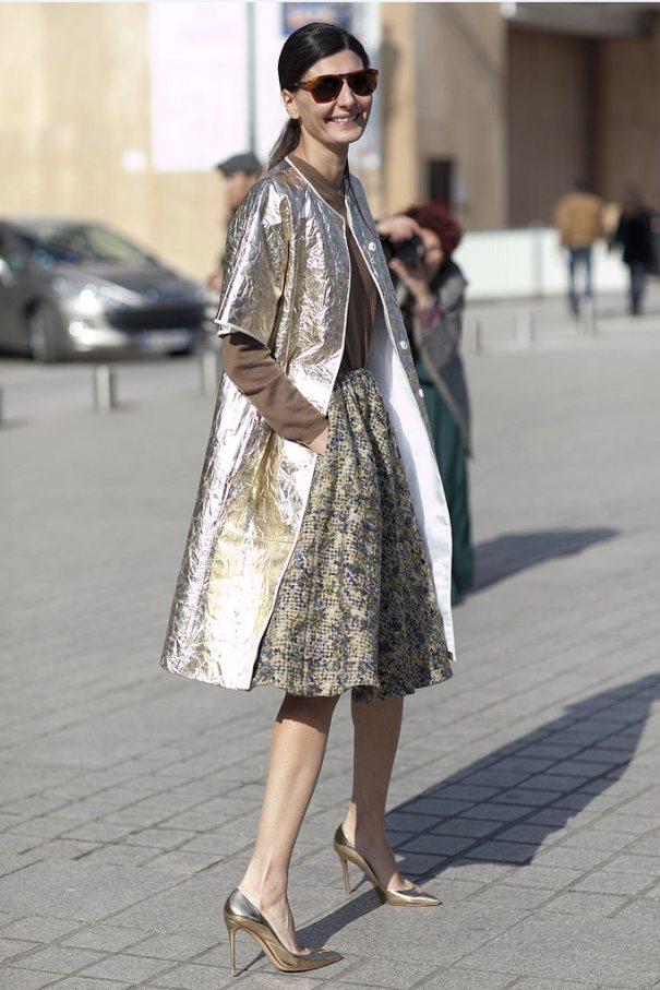manteau long glitter brillant silver argent