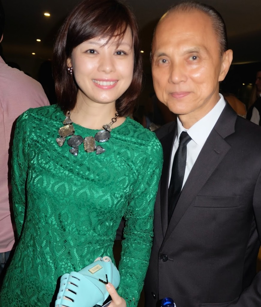 Illiza Ho et Jimmy Choo