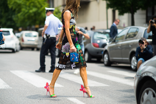 street style sophia webster shoes