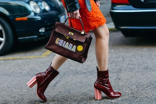 Anya Hindmarch street style