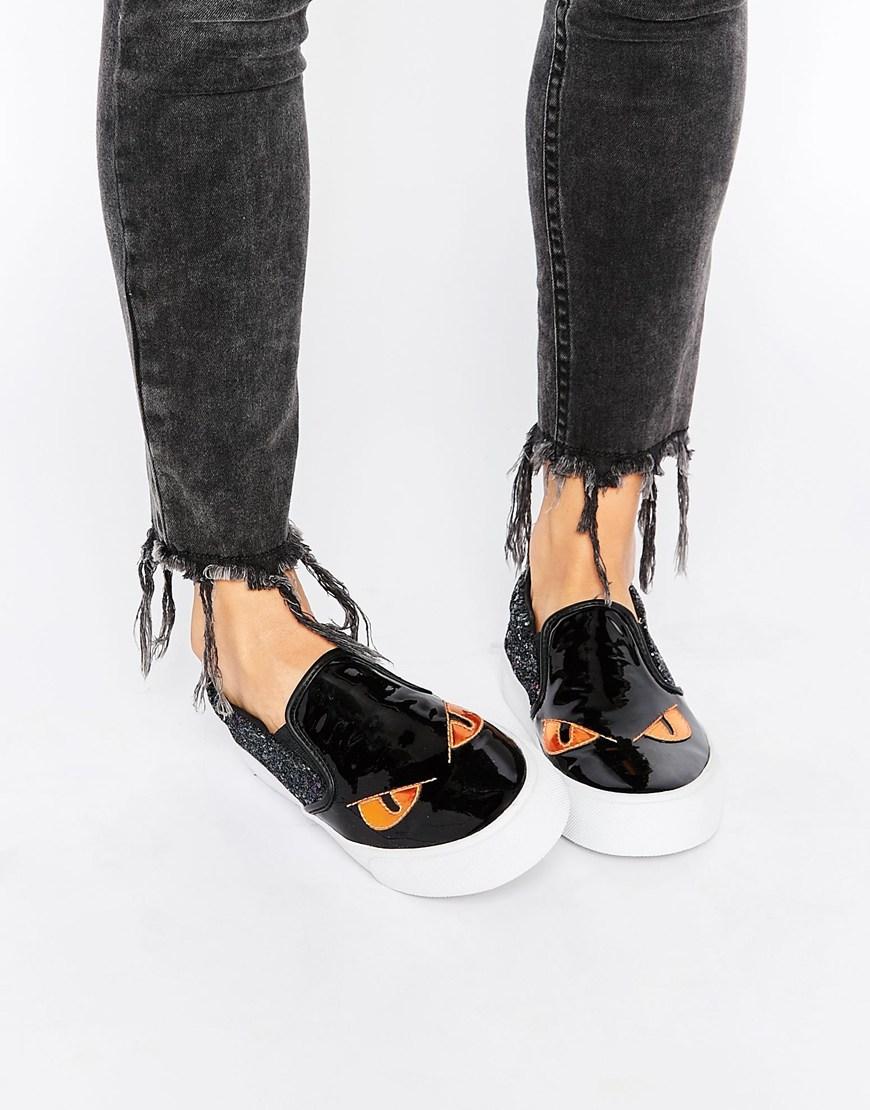 Asos - Slip-on noire