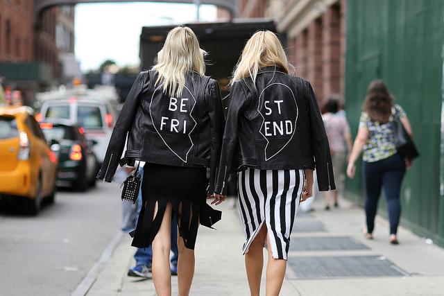 Veste best friend street style