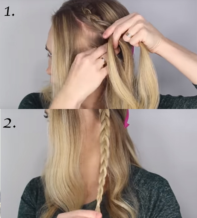 tutoriel DIY tresses bohêmes