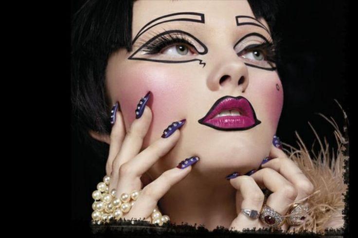 makeup eyeliner Halloween