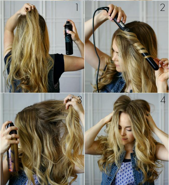 tutoriel coiffure tresse