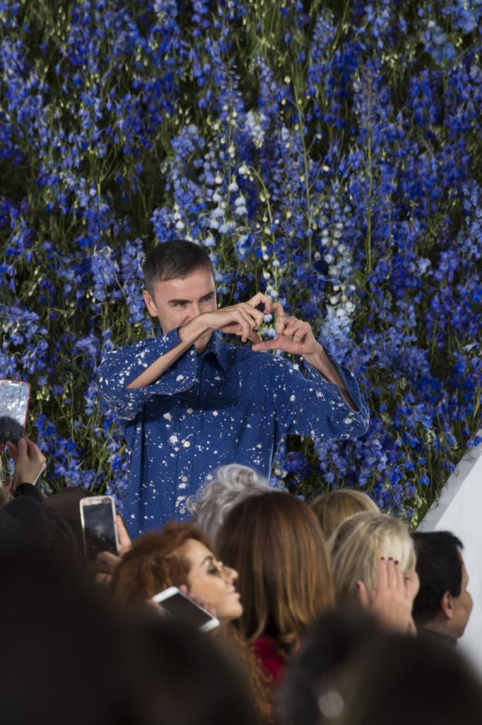 Dior Raf Simons last fashion show dernier défilé