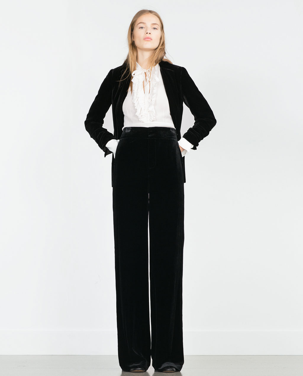 Zara - pantalon large